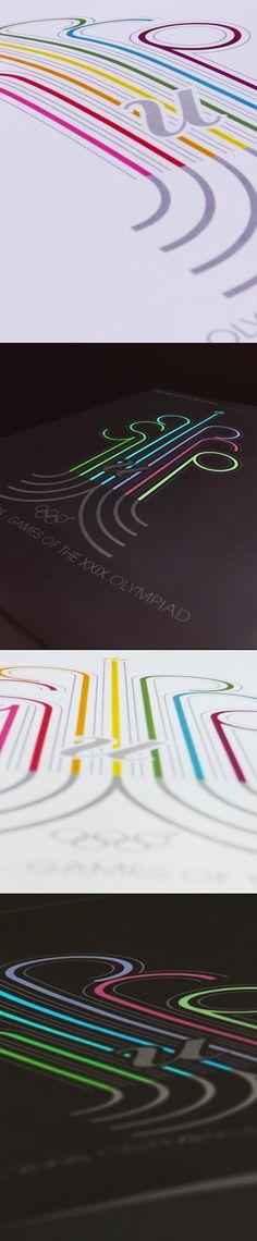 2008 Olympiad print by Jamie Blakesley