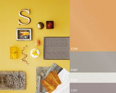 color trend by Tikkurila 2015 Trends, Color Trends, Gallery Wall, Colours, Frame, Painting, Home Decor, House Decorations, Pallets