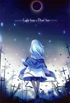 Light from a dead star~