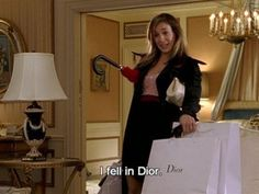 Carrie Bradshaw: The 'I Fell in Dior' Edition Sarah Jessica, Jessica Parker, City Quotes, Movie Quotes, Fashion Mode, Look Fashion, Daily Fashion, Street Fashion, Citations Film