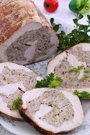 Czech Recipes, Russian Recipes, Pork Recipes, Chicken Recipes, Cooking Recipes, Snacks Für Party, Polish Recipes, Food To Make, Dinner Recipes