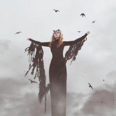 Bleak black magic portrait. Creature Craft Co. http://creaturecraft.co