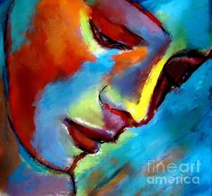 Near to the heart Painting by Helena Wierzbicki - Near to the heart Fine Art Prints and Posters for Sale
