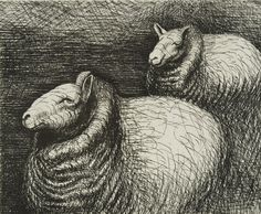Henry Moore, Perry Green - Henry Moore Sheep on Tour