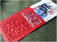 Christmas Envelope - LOVE