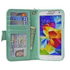 Samsung Galaxy S5 Wallet Case - Navor