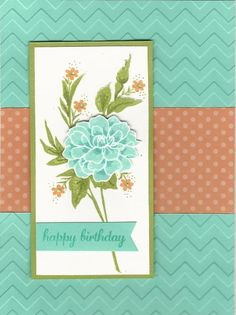 IC449 Fabulous Florets by Kathy LeDonne - Cards and Paper Crafts at Splitcoaststampers