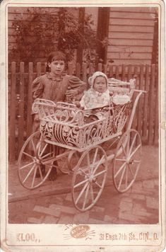 Baby Carriage « THE CABINET CARD GALLERY