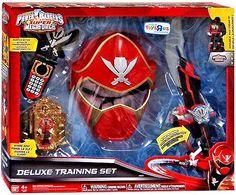 Amazon.com: Power Rangers SUPER Megaforce Exclusive Deluxe Training Set [Red Ranger]: Toys & Games