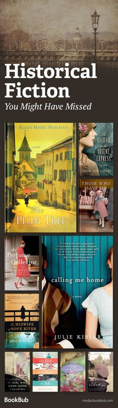 Check out these fantastic historical fiction books you may not have read yet. These reads are incredibly loved, but may have flown under the radar. I Love Books, Good Books, Books To Read, My Books, Book Suggestions, Book Recommendations, Book Club Books, Book Lists, Reading Lists
