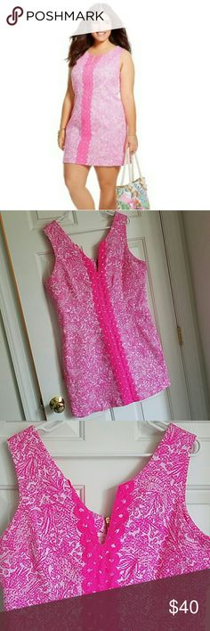 Lilly Pultizer See Ya Later Shift Sz 16 Lilly Pultizer for Target See Ya Later shift size 16. Excellent condition with no imperfections and from a smoke free home. Lilly Pulitzer for Target Dresses