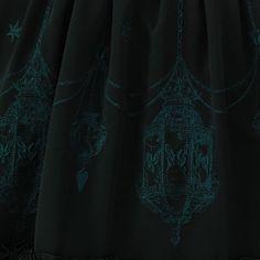 """【ブラックラスト1点】""""Pendant Lamp""""スカート"""