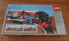 Lego 7715 Push-Along Passenger Steam Train (year 1985)