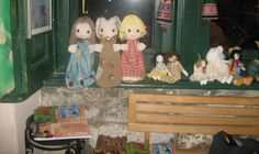 in a shop / sona handmade dolls