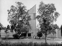 Church  (1970) Bodafors, Sweden Ralph Erskine with Mike Linnett &