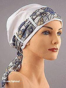Original Headdress (Sewing and Cutting) - Needlewoman Inspiration Magazine Head Wrap Scarf, Scarf Hat, Bandana, Scarves For Cancer Patients, Scrub Hat Patterns, Mode Turban, Head Turban, Hijab Style Tutorial, Scrub Hats