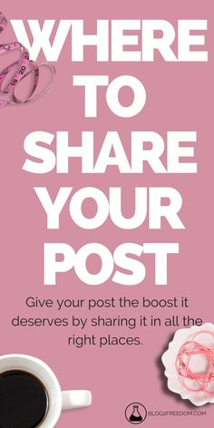 Where to share your post everytime you publish. The quickest ways to get your post in front of the most people! Content Marketing, Social Media Marketing, Marketing Strategies, Interesting Blogs, Blog Writing, Writing Tips, Business Tips, Business Quotes, Creative Business