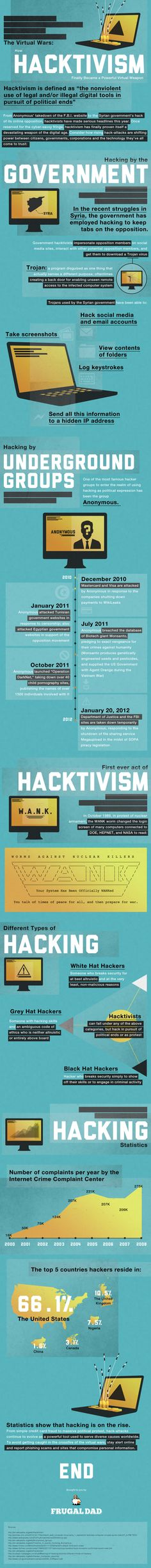 Will Hacktivism Play A Role In The Election? #infographic