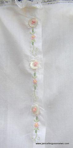 Pour embellir une blouse de femme