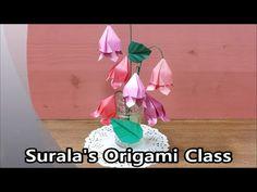 Origami - Bellflower / 종이접기 - 초롱꽃