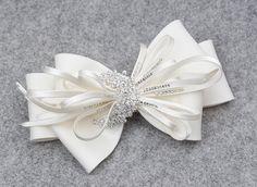 Bridal head piece bridal hair clip wedding by MirinoBridal on Etsy