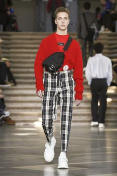 MSGM Menswear Fall Winter 2018 Milan
