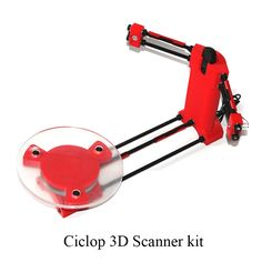 125.00$  Buy here - http://alinbr.worldwells.pw/go.php?t=32762191086 - Ciclop DIY 3D three-dimensional scanner adapter plate precision machine  BQ diy 3d scanner For 3D printer parts 3D0041