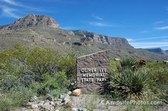 Oliver Lee Memorial State Park campground has 44 single-family campsites set against the west-facing escarpment of the beautiful Sacramento Mountains. Private Campgrounds, New Mexico History, Best Places To Camp, Rv Sites, Campsite, State Parks, Sign, Memories, Mountains