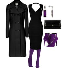 """""""T4 Royal"""" by pepperwell on Polyvore - change double breasted jacket to single"""