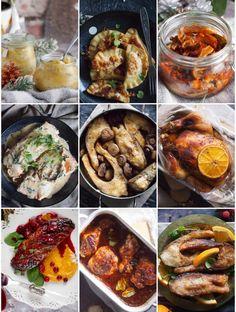 Blog Karmelowy - kulinaria, lifestyle i uroda - tylko sprawdzone i pyszne przepisy z całego świata, lifestyle i moje ulubione perełki kosmetyczne Comfort Food, Mozzarella, Chicken Wings, Food Porn, Curry, Good Food, Blog, Meat, Recipes