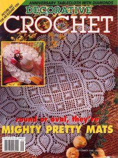 Decorative Crochet Magazines 45 - Gitte Andersen - Picasa Web Albums DEČKY, UBRUSY