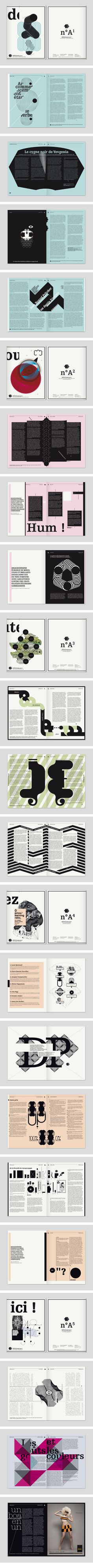 Design Studio: My name is Wendy Repetition squared - each piece repeats a simple shape, using the same illustrative style to allow for cohesion. While background colors can vary, the shapes and accent items are all in black.