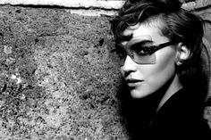 Fashion Fendi Eyewear Ad Campaign by Karl Lagerfeld S/S 2012