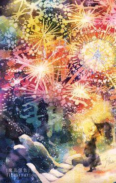 魔法混色 by 池田 優 | CREATORS BANK http://creatorsbank.com/ikedayu/works/323768