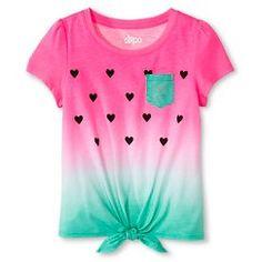 Girls' Watermelon Print Tee - Circo™
