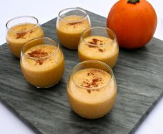Apple Pumpkin Fall Smoothie     1 1/2 Cups Organic Canned Pumpkin (just use a can, don't measure)     1 Cup Unsweetened Apple Sauce     1/2 Can Coconut Cream     3/4 Cup Almond Milk     1/4 Cup Salted Almond Butter     1 Tsp Vanilla     1 Tsp Organic Cinnamon     1/2 Tsp Organic Cardamom     3-4 Tbsp Raw Honey (Paleo) or Xylitol (low carb, natural sweetener that tastes like sugar, but is not Paleo)     2 Cups Ice