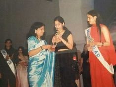 Pashmeen at her school farewell