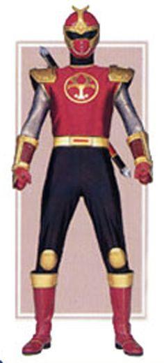 Thunder Ranger Crimson | Power Rangers Ninja Storm -- Crimson Thunder Ranger Cosplay Costume ...