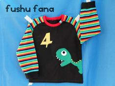FushuFana: Camiseta de 4 años