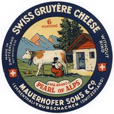 One of the essential elements in fondue ... Gruyere