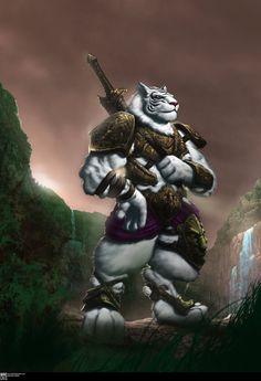 tiger warriors | White Tiger Warrior by Valadrel on deviantART
