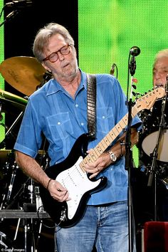 Losing his touch? Eric Clapton (here in September 2017) has admitted his fears that he will embarrass himself at 2018 shows, after revealing he is going deaf and has tinnitus