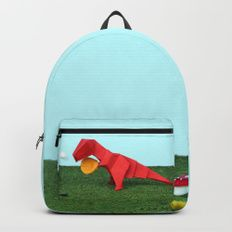 Yes T-Rex can! Backpacks