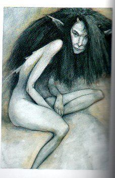 Brian Froud bad faery Check out Lady Cottingly's faeries.