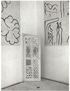 Henri Matisse - studio at the Chapelle du Rosaire in Vence - French Riviera