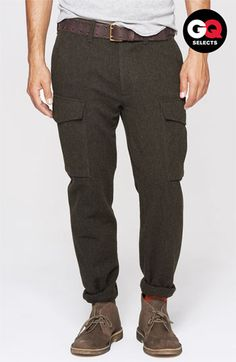 Todd Snyder 'Officer' Wool Cargo Pants #Nordstrom #GQSelects