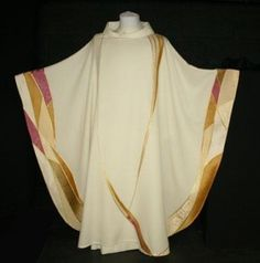 Celebration Chasuble in Gold & Rose Tones
