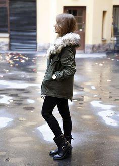 North Fashion: PARKA IDEALNA KURTKA NA JESIEŃ SPRAWDŹ GDZIE KUPIĆ I Z CZYM JĄ NOSIĆ