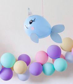 #balloons #mermaidparty #seashells