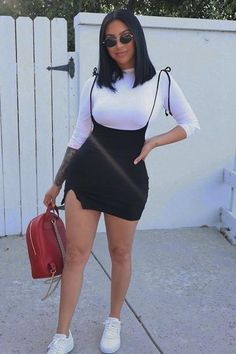 Black Girl Fashion, Tomboy Fashion, Teen Fashion Outfits, Mode Outfits, Cute Fashion, Look Fashion, Streetwear Fashion, Fashion Skirts, Teenager Fashion
